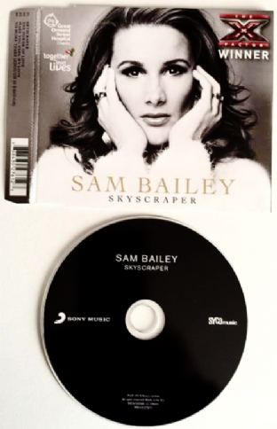 Sam Bailey ‎- Skyscraper (CD Single) (G+/EX)